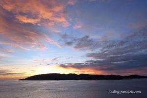 コタキナバルの夕日